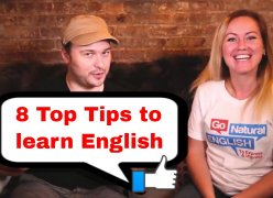 Embedded thumbnail for 8 Top Tips to Learn English